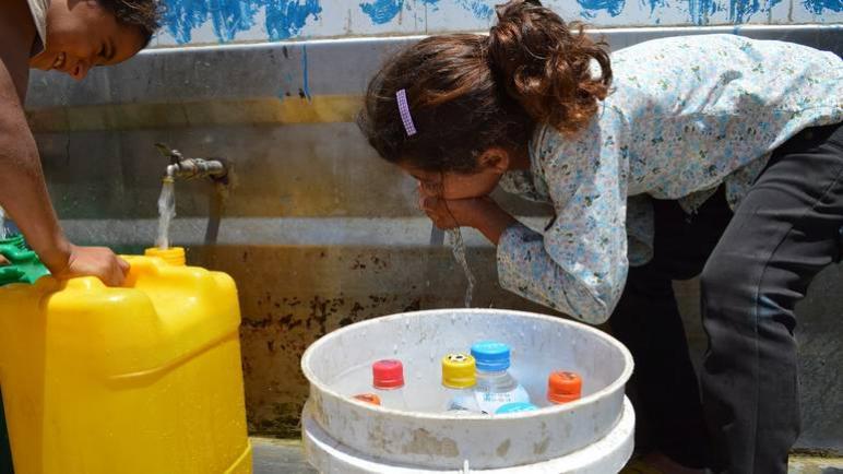 تلوث خطير لمياه الشرب في قطاع غزة بسبب الحصار الطويل
