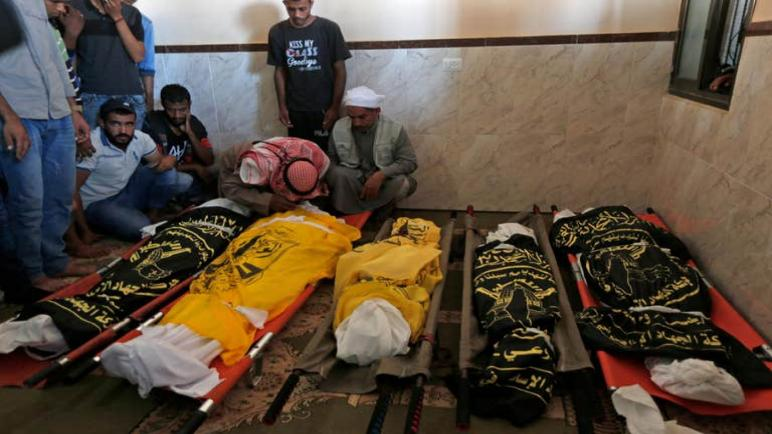 الكيان الإسرائيلي يزعم التحقيق في غارة جوية خاطئة بعد استشهاد عائلة كاملة بينهم خمسة أطفال في غزة