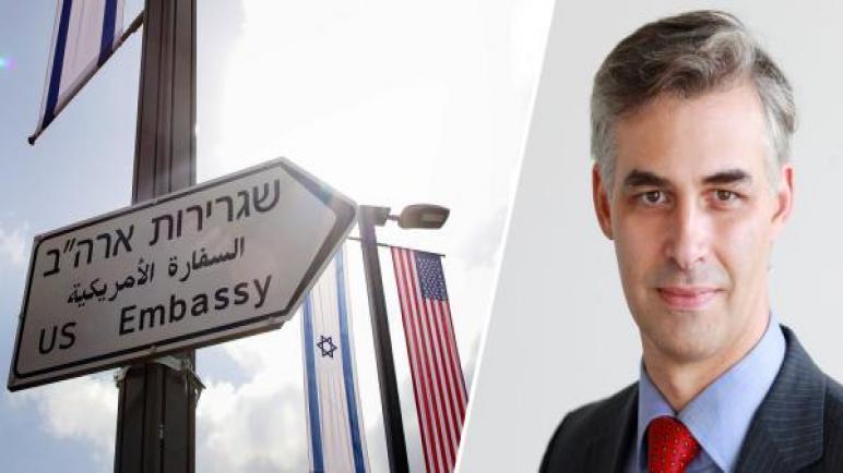 رمضان دباش : وجود السفارة الأمريكية في القدس لا يزعجني – القدس هي عاصمة اسرائيل