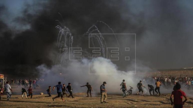 حماس تدعو لتكثيف الاحتجاجات غدا على الحدود مع إسرائيل