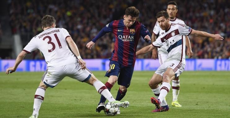 برشلونة يقهر بايرن بثلاثية ويقترب من نهائي أبطال أوروبا