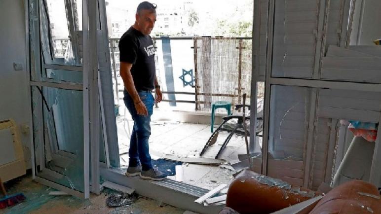 """صحيفة إسرائيلية: تسببت صواريخ غزة بأضرار بلغت 14 مليون دولار في المباني في """"إسرائيل"""""""