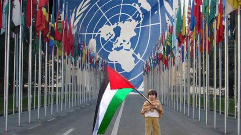 المجتمع الدولي يدعم القضية الفلسطينية في الأمم المتحدة