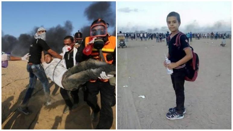 مع مقتل 7 فلسطينيين البارحة الجمعة في غزة – ارتفع عدد قتلى مسيرة العودة منذ شهر مارس إلى 193 فلسطيني
