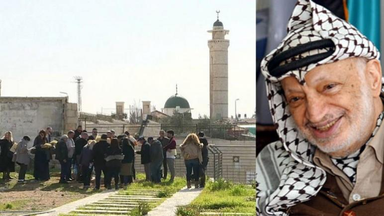 تم حجز قطعة الأرض العائدة للرئيس الفلسطيني الراحل عرفات لضمان سداد التعويضات لضحايا الهجمات الفلسطينية