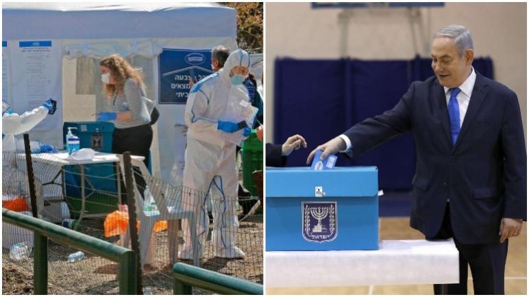 الإنتخابات الإسرائيلية الثالثة هذا العام: تجري اليوم تحت وطأة الخوف من فيروس كورونا