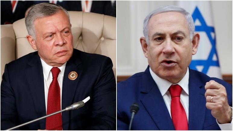 نتنياهو ينتهك معاهدة السلام مع المملكة الأردنية ويقيد وصول المياه إليها