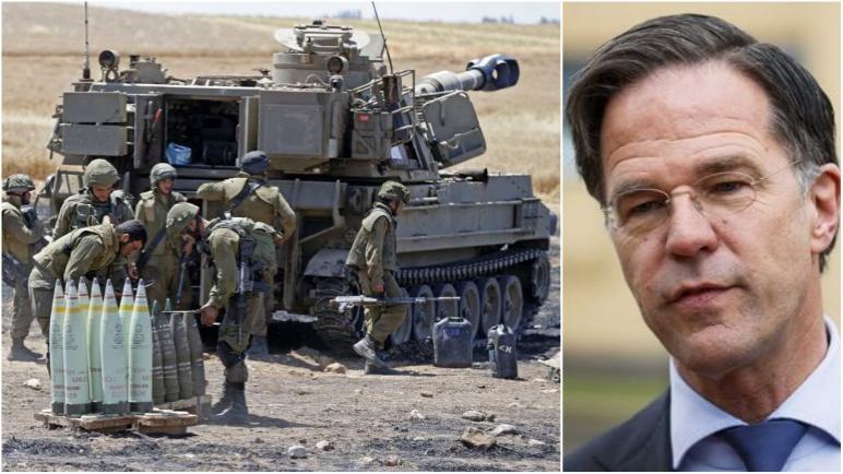 تعرض رئيس الوزراء الهولندي مارك روتا لانتقادات في البرلمان الهولندي بعد تغريدة يدعم فيها الكيان الإسرائيلي