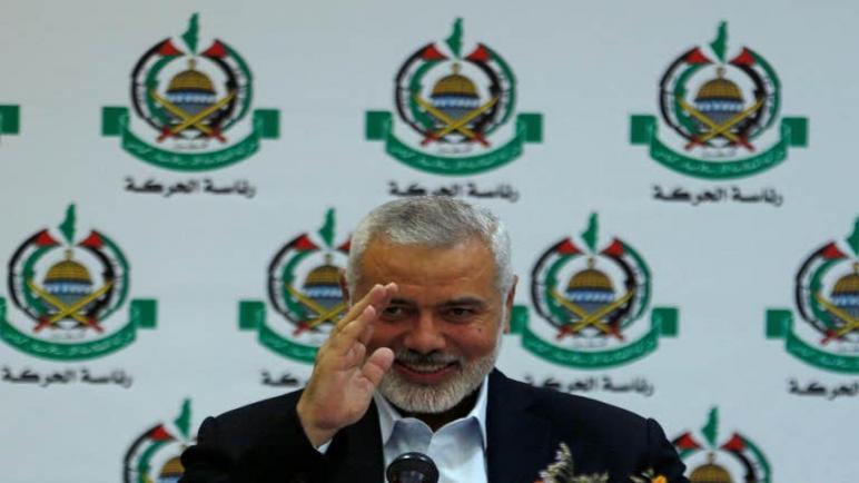 قائد حماس اسماعيل هنية يحذر الكيان الإسرائيلي من المقاومة المسلحة بحال ضم أجزاء من الضفة الغربية: إذا اضطررنا الى ذلك فسنفعل