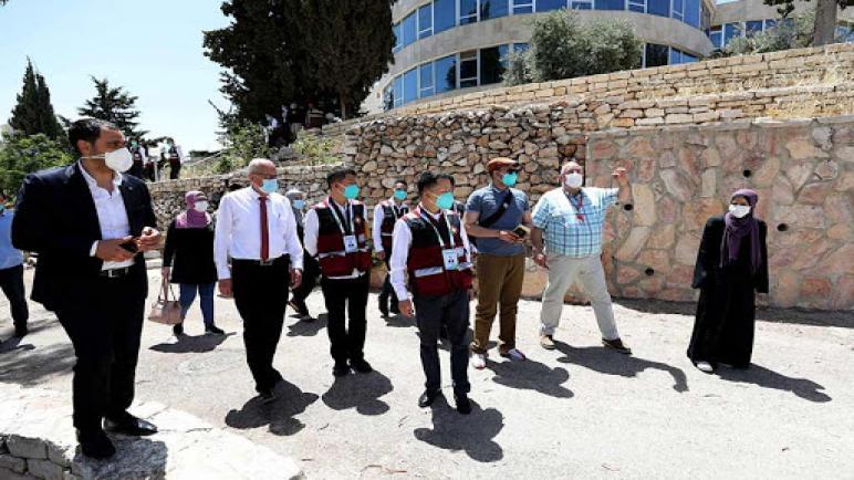 الفريق الطبي الصيني ينهي مهمته الإغاثية الخاصة بمواجهة فيروس كورونا في فلسطين