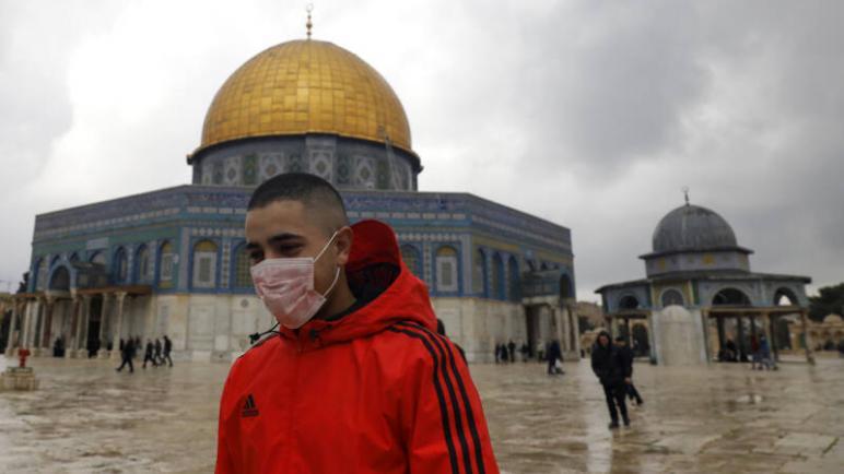 إغلاق المسجد الأقصى وقبة الصخرة في القدس بسبب فيروس كورونا
