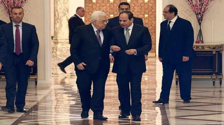 اجتماع الرئيس المصري السيسي والرئيس الفلسطيني عباس في منتدى الشباب